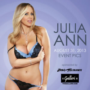 Julia Ann Signing Event